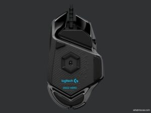 logitech g502 hero bottom