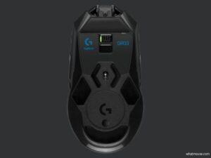 logitech g903 lightspeed hero bottom