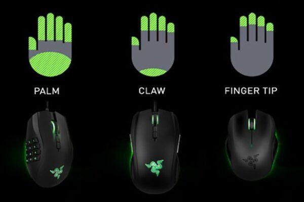fingertip grip gaming mice