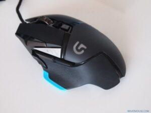 Logitech G502 top main