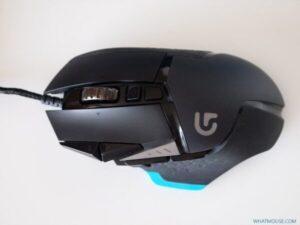 Logitech G502 top