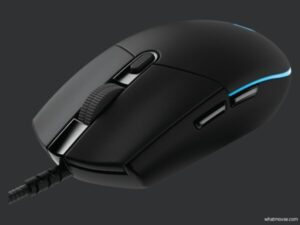 logitech g pro wired angled
